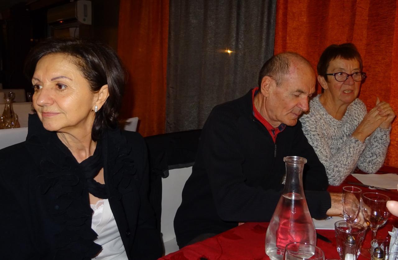 Dolores, Giselle et Gilbert