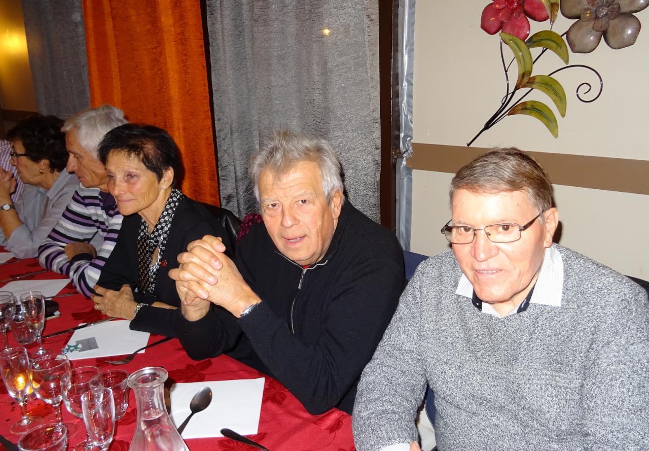 Rosette , Alain et Pierre