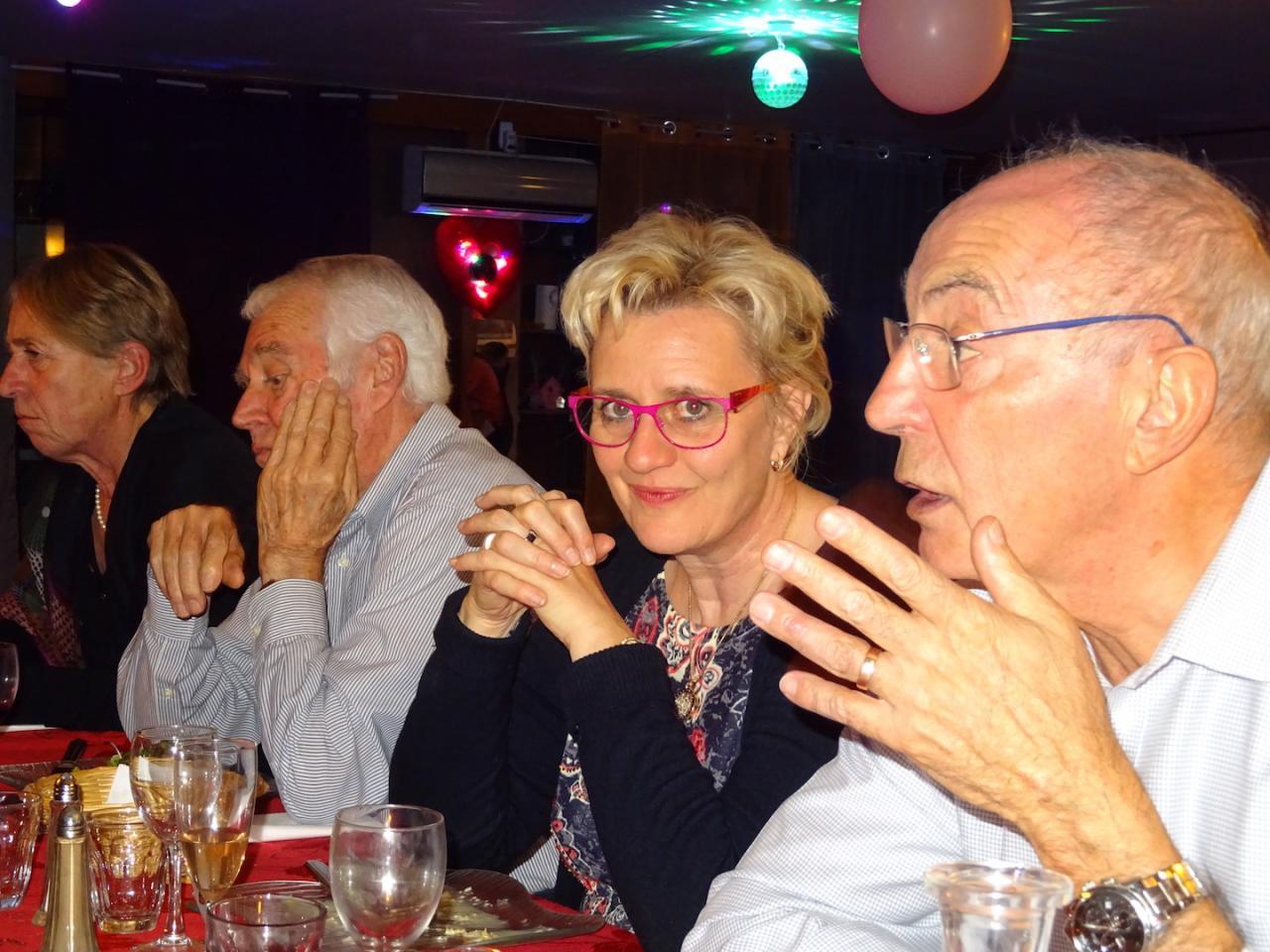 Brigitte, Lydie, Denis et Pierre