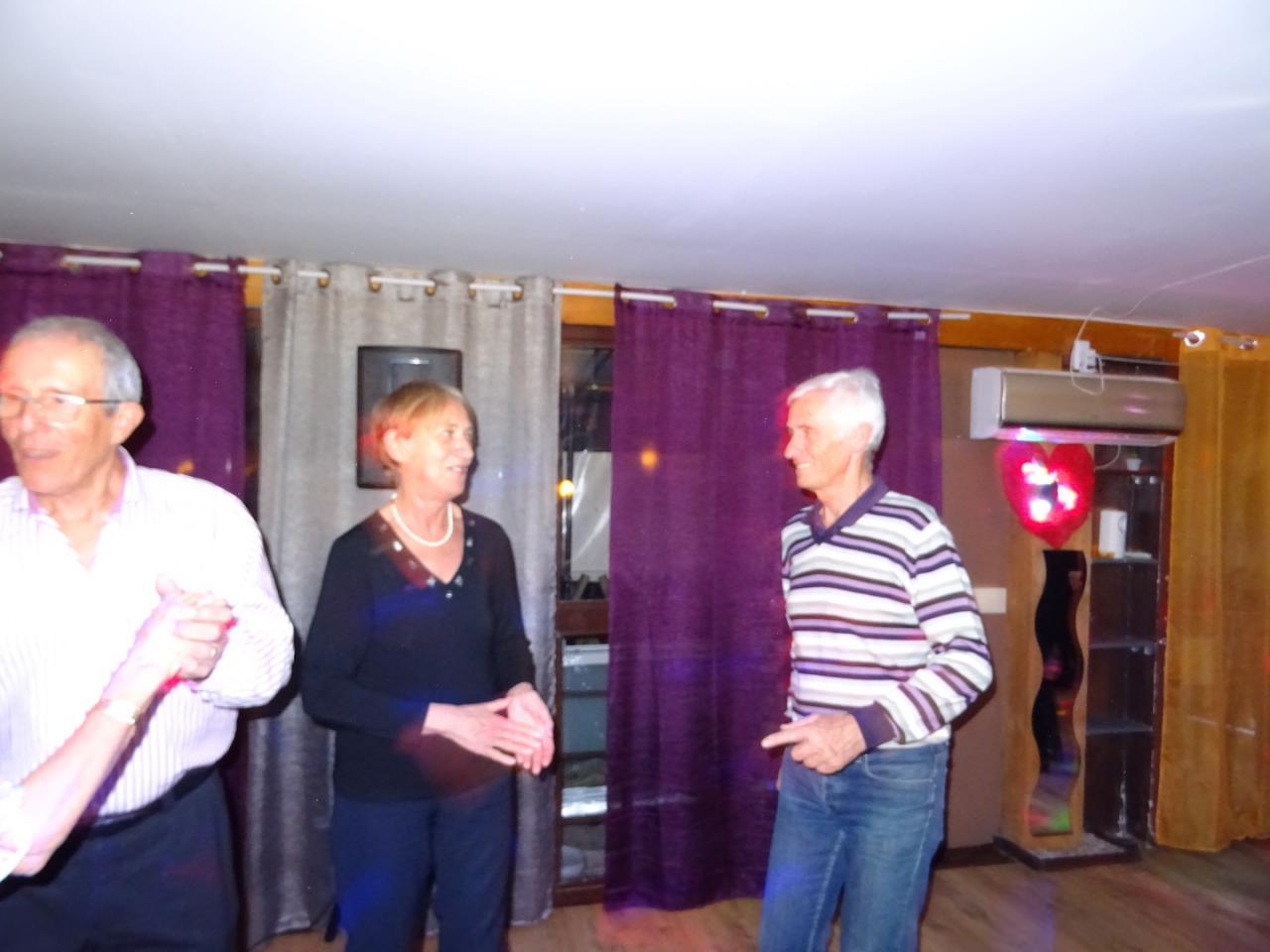 Brigitte, Bernard et Claude