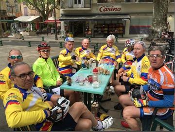 1er arrêt à Salernes